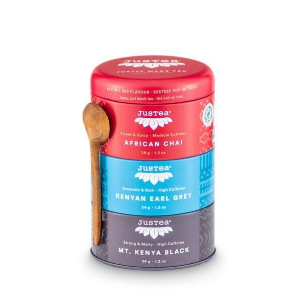 Black Tea Trio (fair trade) by JusTea on Rosette Fair Trade online store