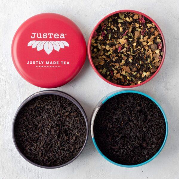 Fair trade Black Tea Trio by JusTea on Rosette Fair Trade online store