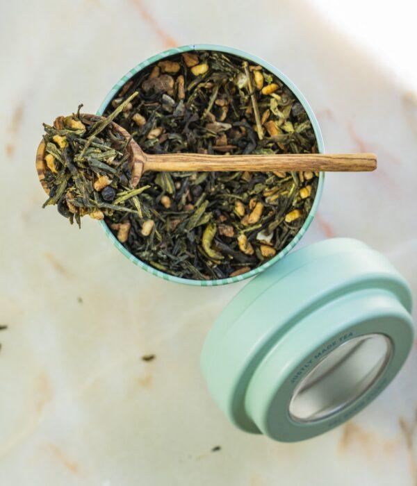 Golden Green fair trade tea by JusTea on Rosette Fair Trade online store