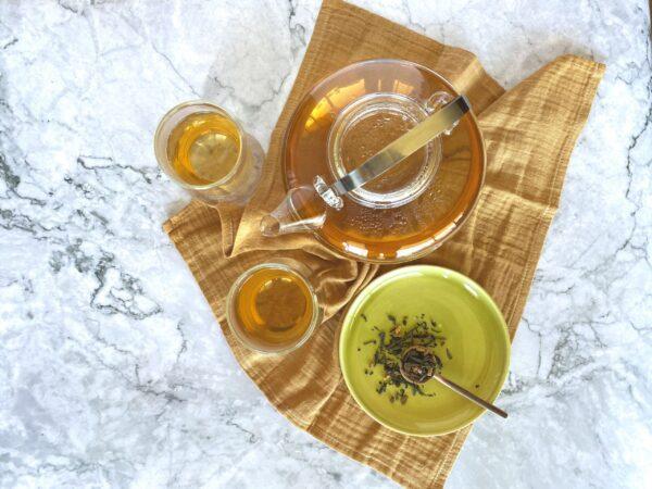 Golden Green tea (fair trade) by JusTea on Rosette Fair Trade online store