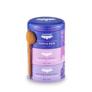 Purple Tea Trio (fair trade) by JusTea on Rosette Fair Trade online store