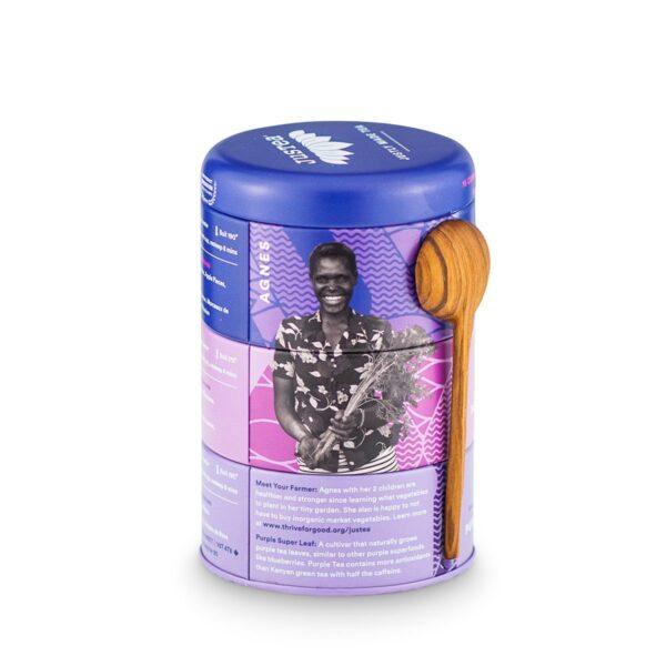 Purple Tea Trio (low caffeine) by JusTea on Rosette Fair Trade online store