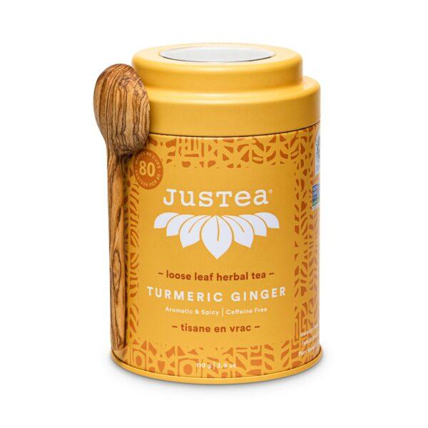 Turmeric Ginger fair trade herbal tea by JusTea on Rosette Fair Trade online store