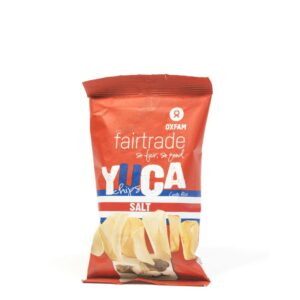 Salted Yuca chips by Oxfam Fair Trade (cassava, manioc) on the Rosette Network online store